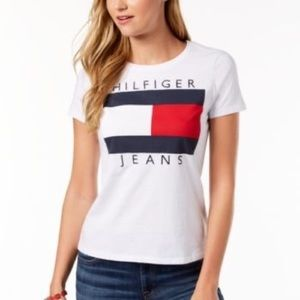 Tommy Hilfiger Embroidered T-shirt